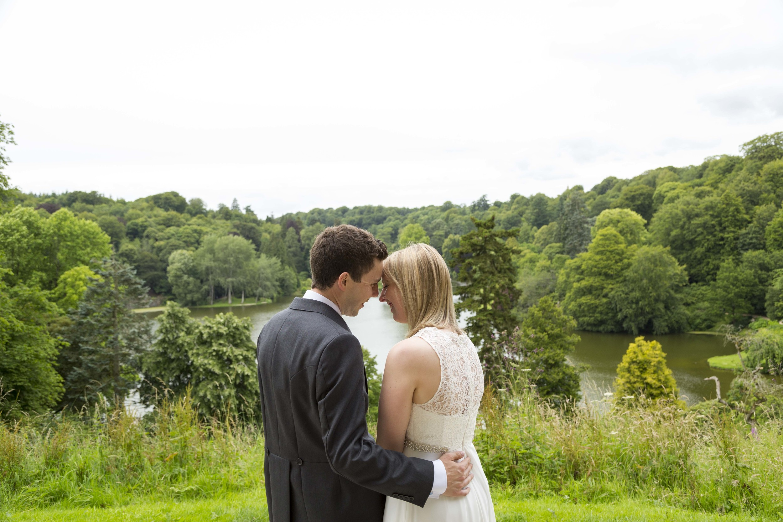 This was my only July wedding this year and it couldn't have been set in a more picturesque setting! Stourhead Gardens was the location and the lovely Barry & Elaine were the couple. They got married in a pantheon and then had these type of views to choose from as their backdrops to choose from when walking around the grounds. It was a tough one on the amount of ground we had to cover but was 100% worth it for the results!