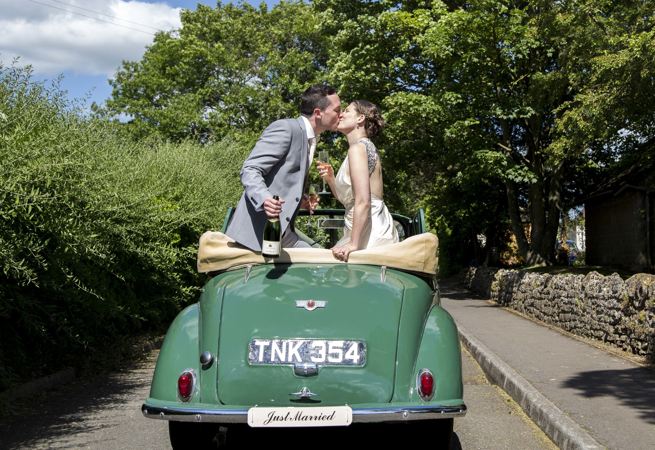 My best memory from this wedding on 6th June aside from the stunning vintage dress, cool Morris Minor, village hall reception decorated in rustic english themed charm and just an all round wonderful day for the lovely couple Jade & Will, had to be Jade's dad's warm hearted emotion at seeing his daughter get married. So much emotion evoked and I love nothing more than capturing this. Lovely memories from a beautiful day!