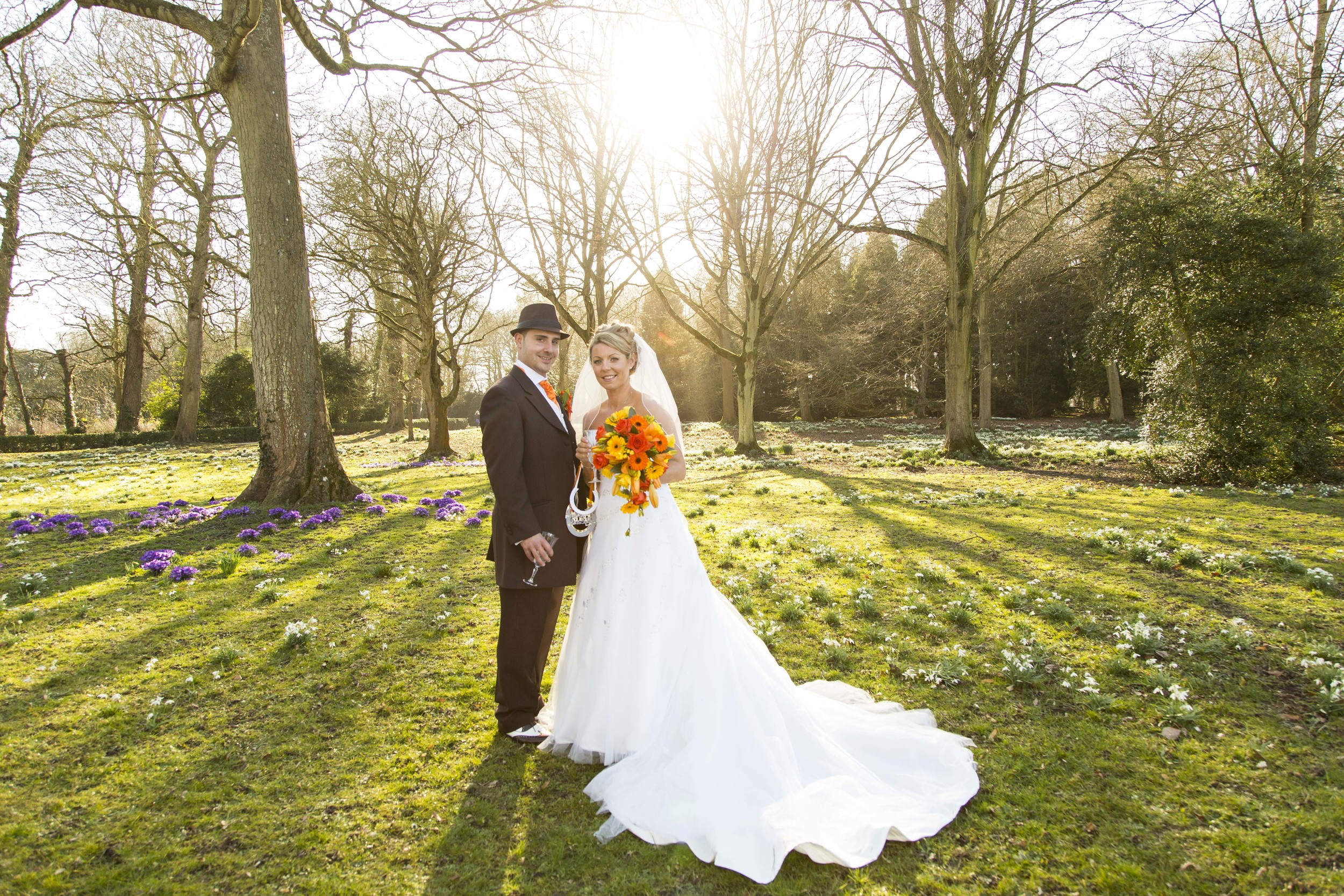 My first wedding of the year for a couple who were so sweet and welcoming and who I would now call friends the lovely Katie & Carl! They had their wedding at Lydiard Church followed by photos in the beautiful grounds and then onto The Marriott hotel in Swindon for their reception. The weather for 7th March was amazing!!! It made for shots like this one. Thank you for starting my 2015 off with a great wedding!