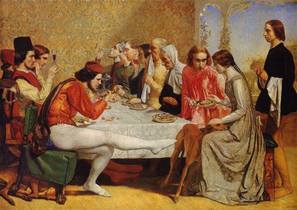 Fig 1.  Sir John Everett Millais  (1892 - 1896)  Isabella (Wood 1981)