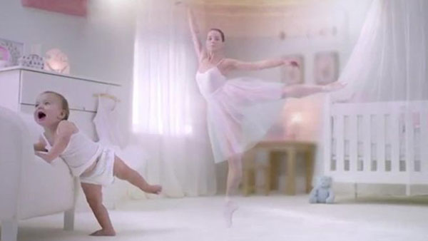 Figure 2. Advert for Pampers