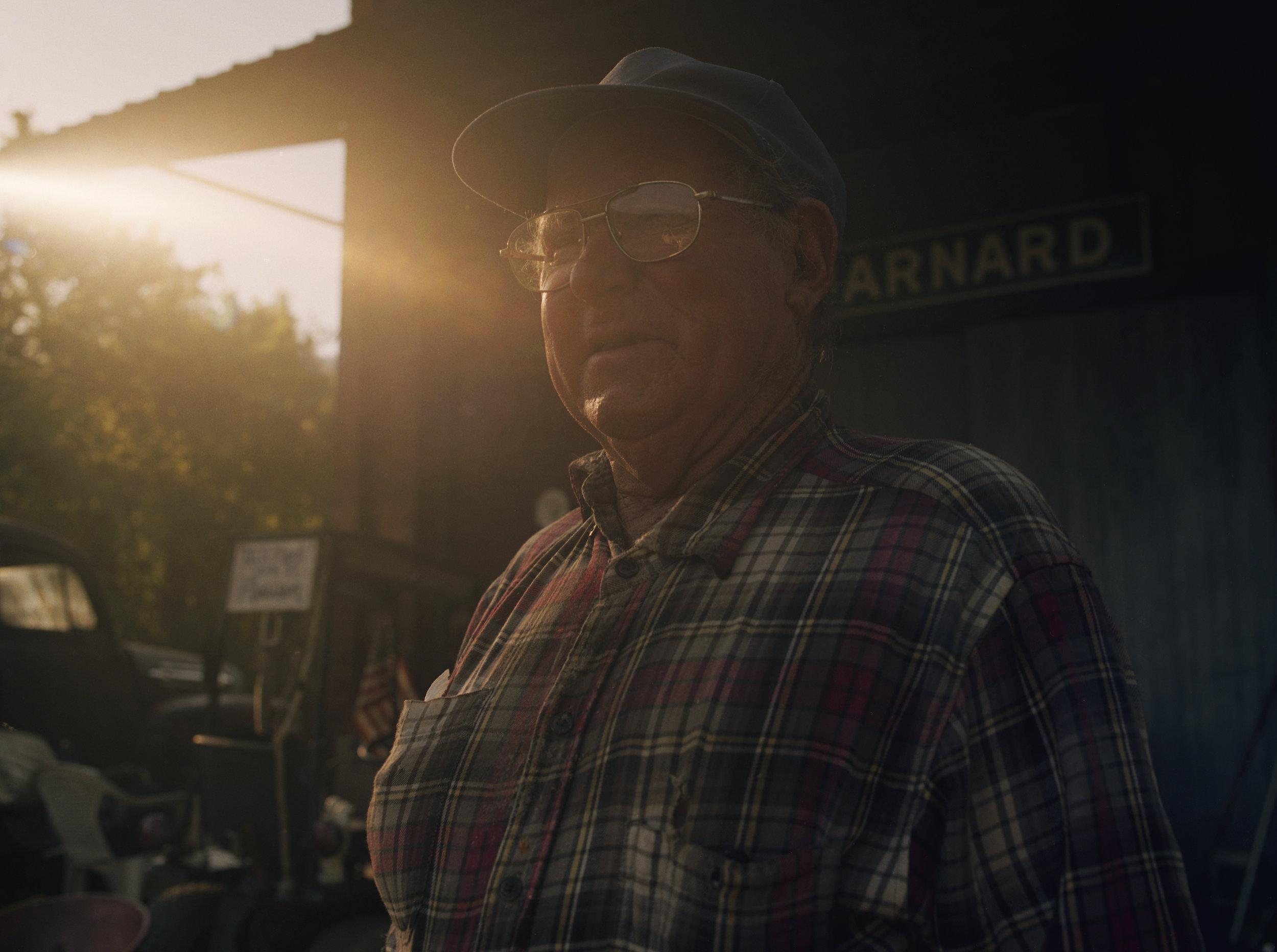 Wayne. The last man in Barnard, North Carolina.
