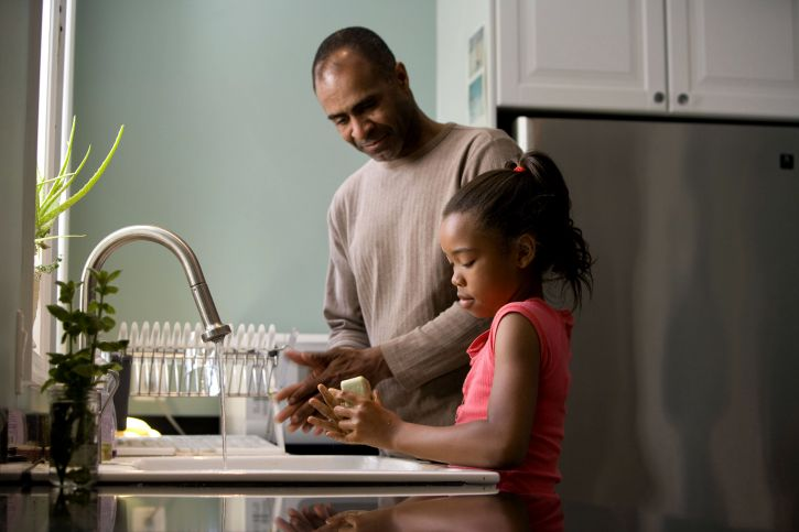 http://www.pixnio.com/people/african-american-father-was-shown-in-the-process-of-teaching-his-young-daughter