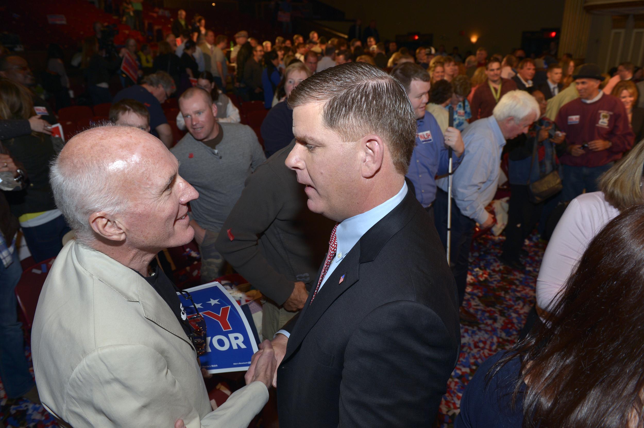 Boston Mayor Elect Marty Walsh