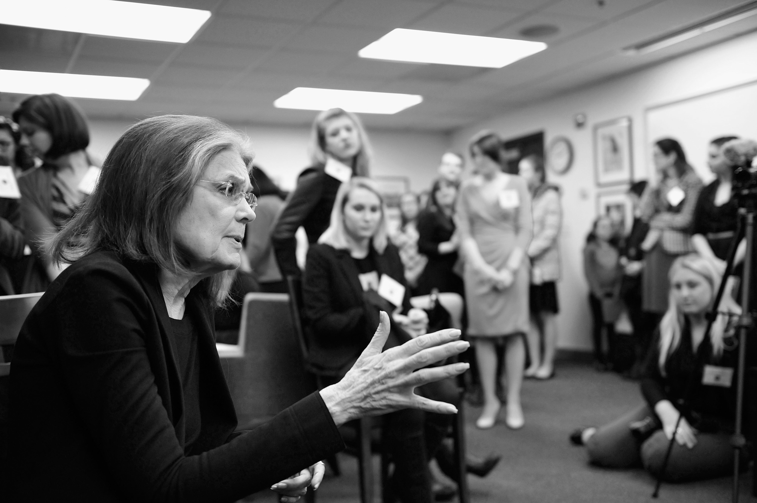 Gloria Steinem at Simmons College