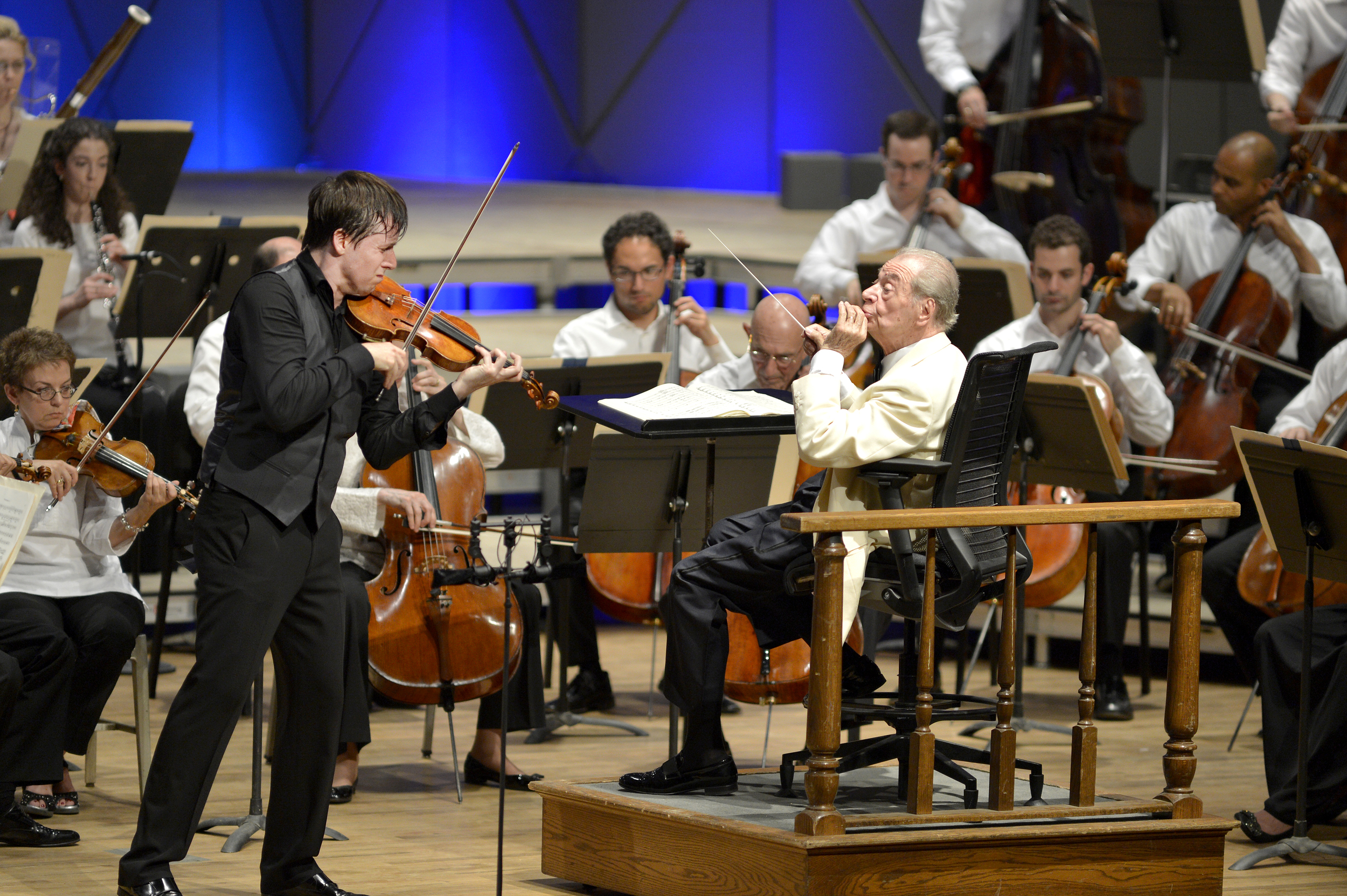 Joshua Bell at Tanglewood with Boston Symphony Orchestra