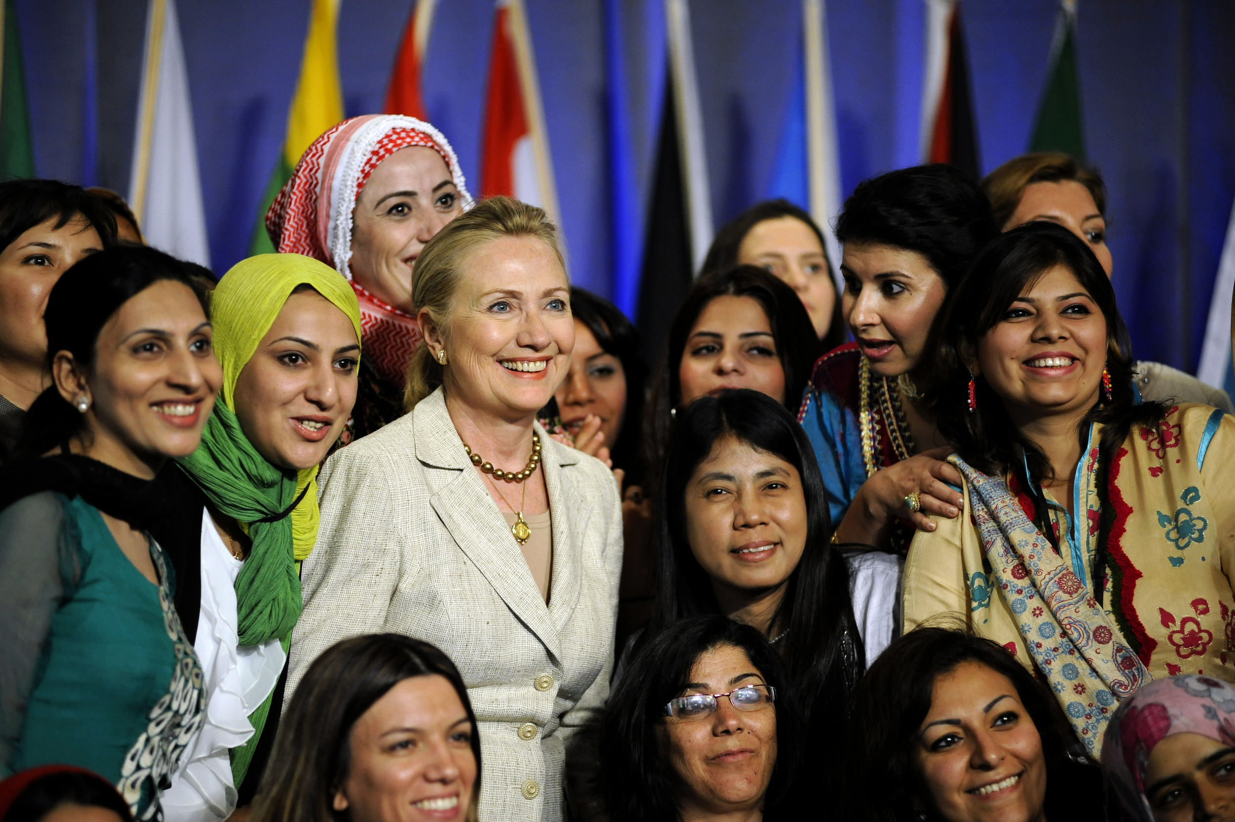 Hillary Clinton at Wellesley College