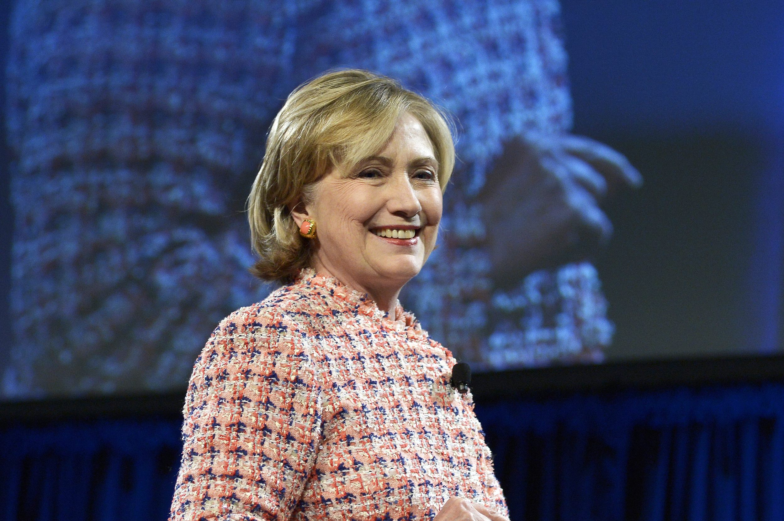 Hillary Clinton at Simmons College