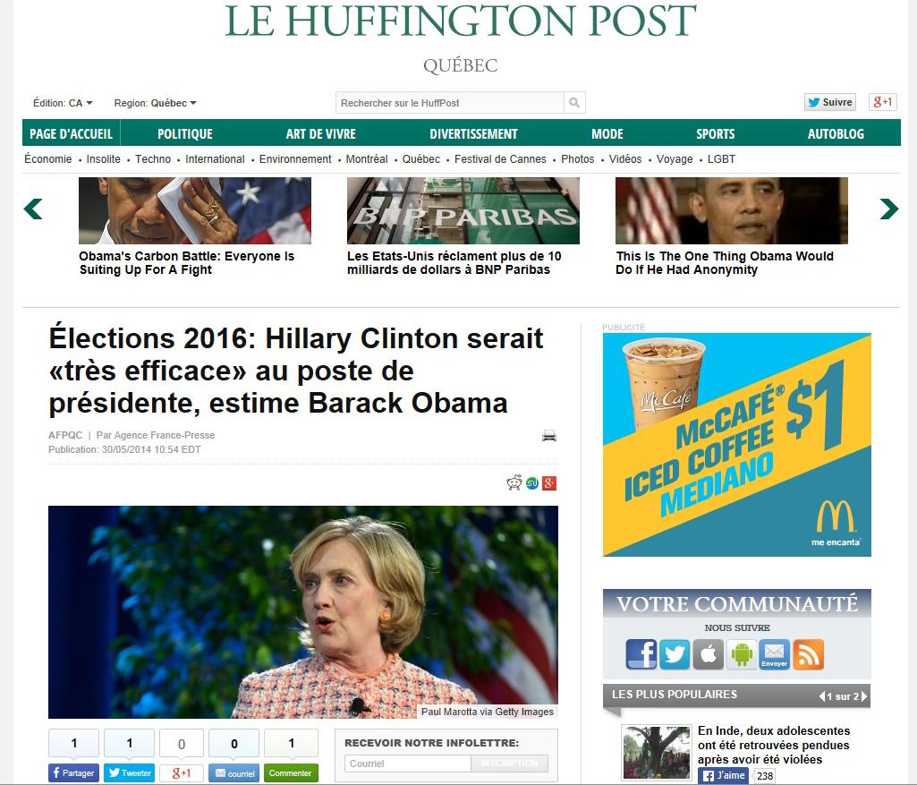 Hillary Clinton Obama Huffpost.jpg
