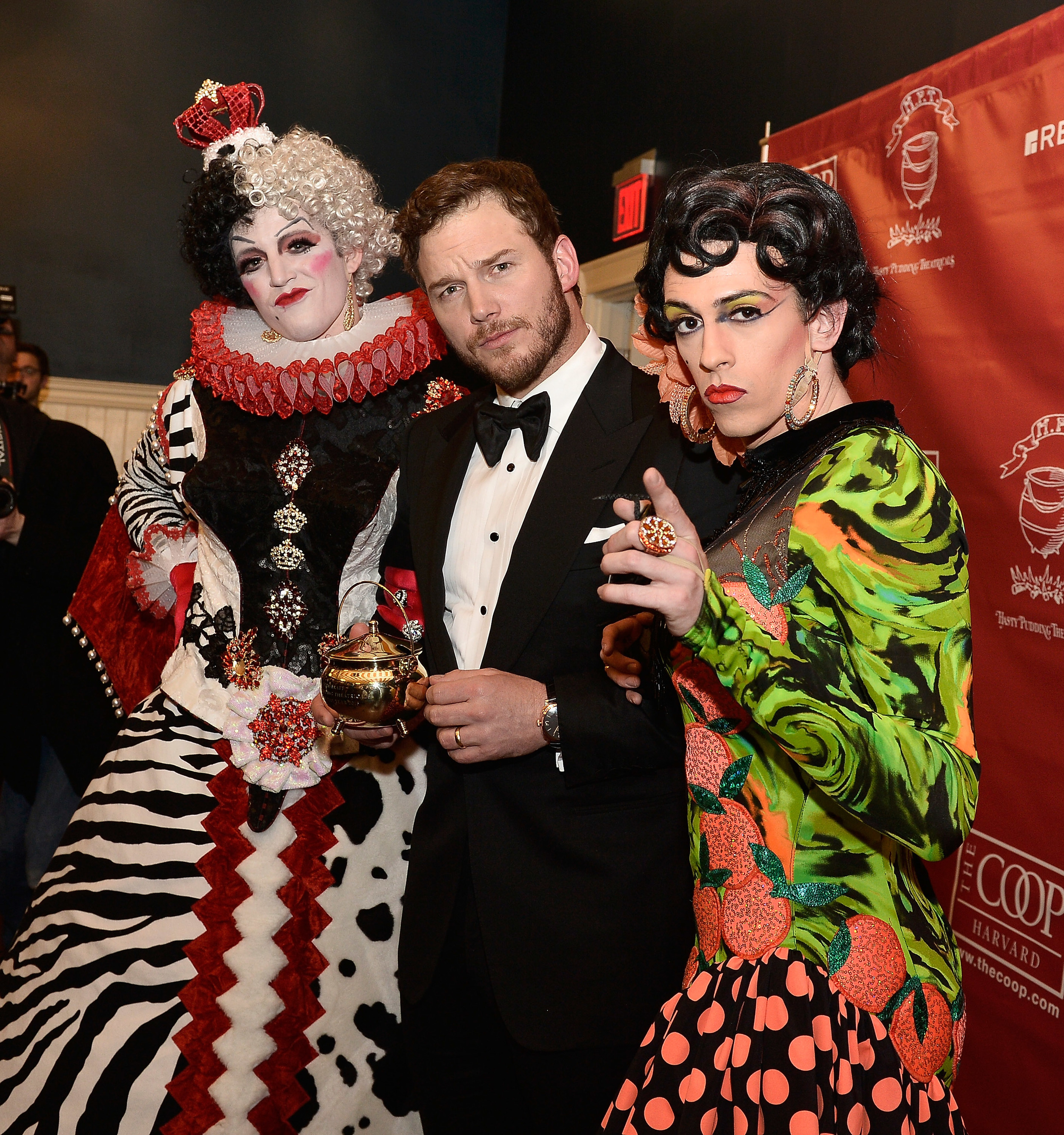 Chris Pratt, Hasty Pudding 2015 Man of the Year