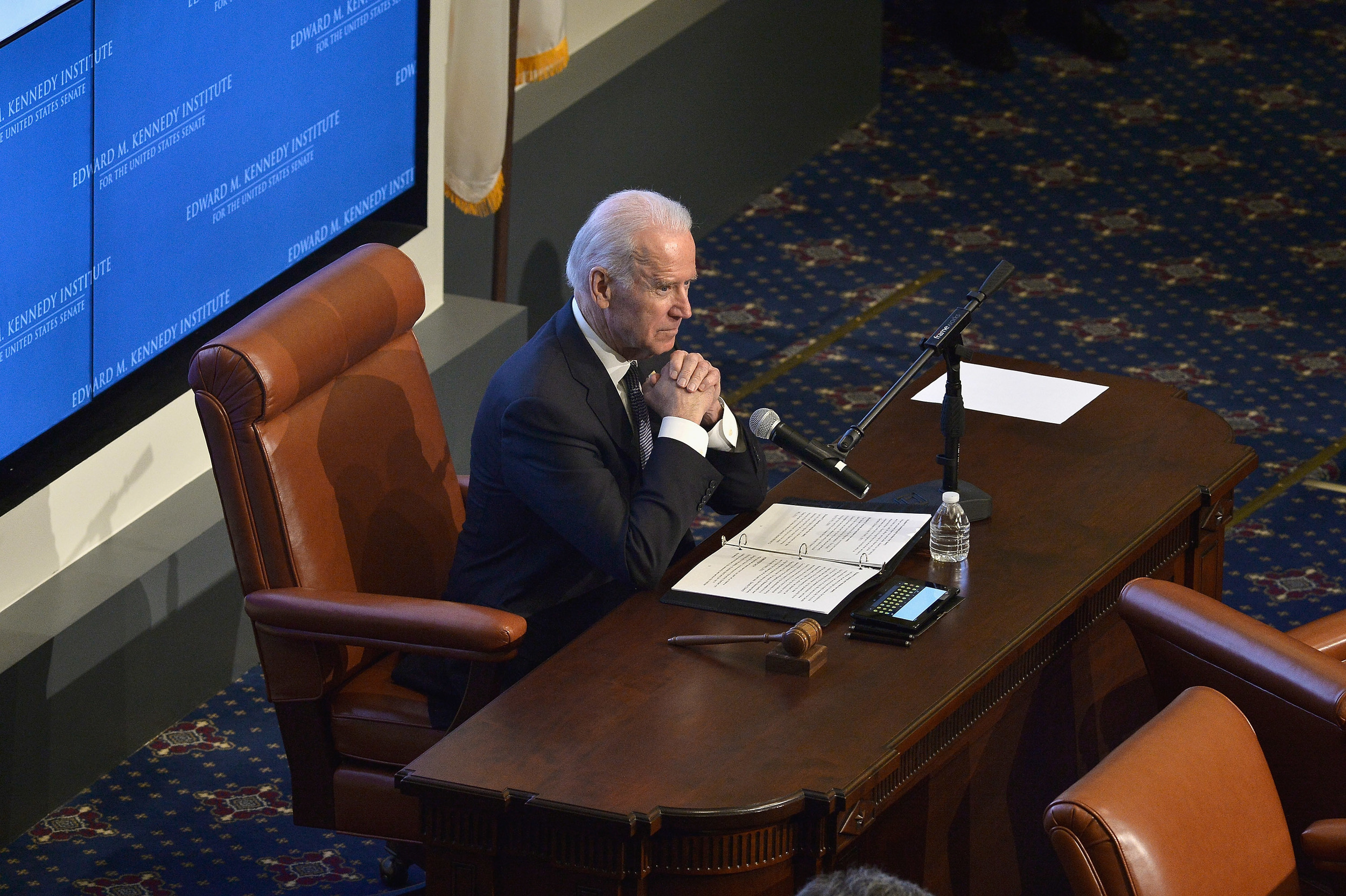 Vice President Joe Biden at Ted Kennedy Institute