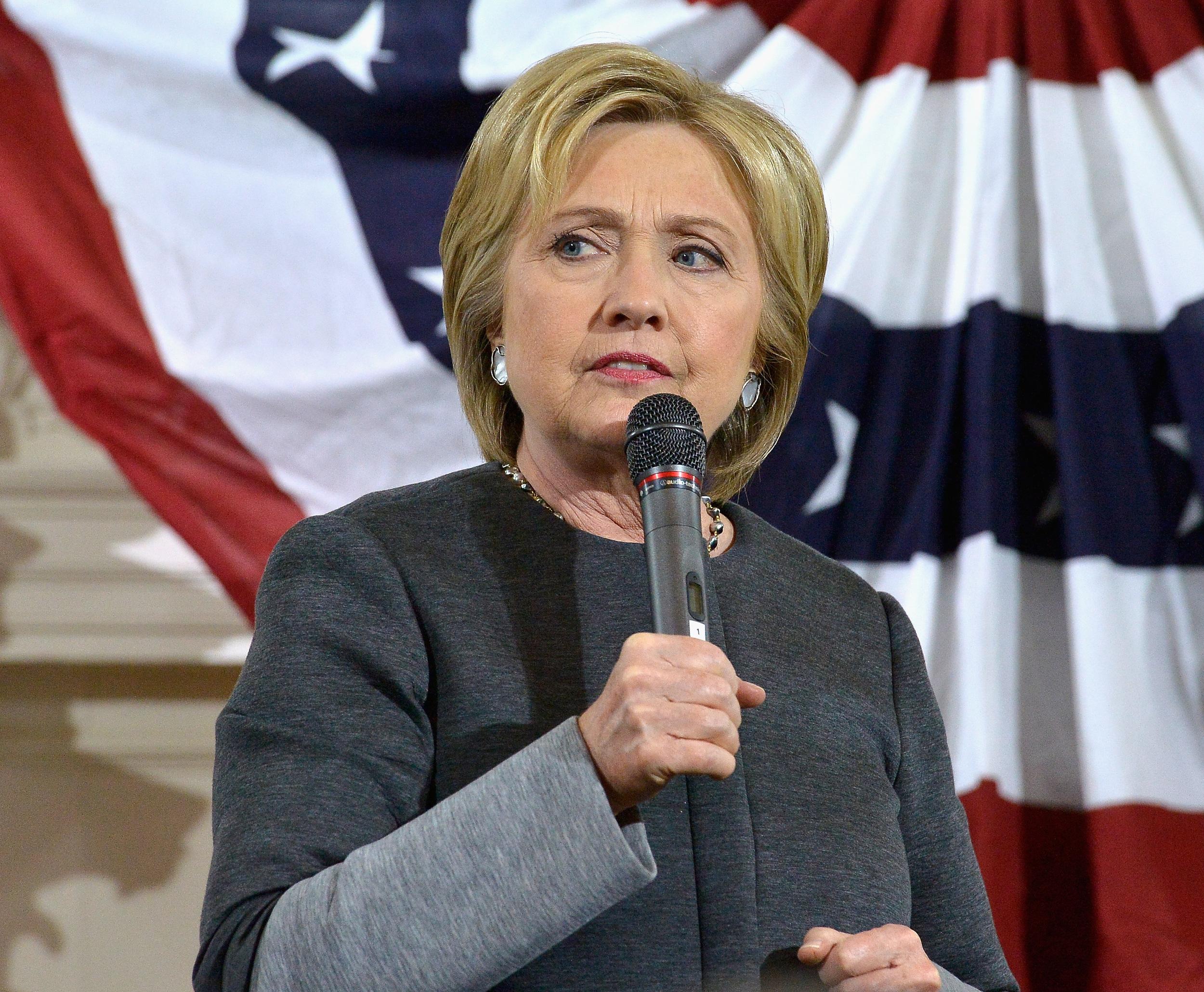 Hillary Clinton Boston February 2016