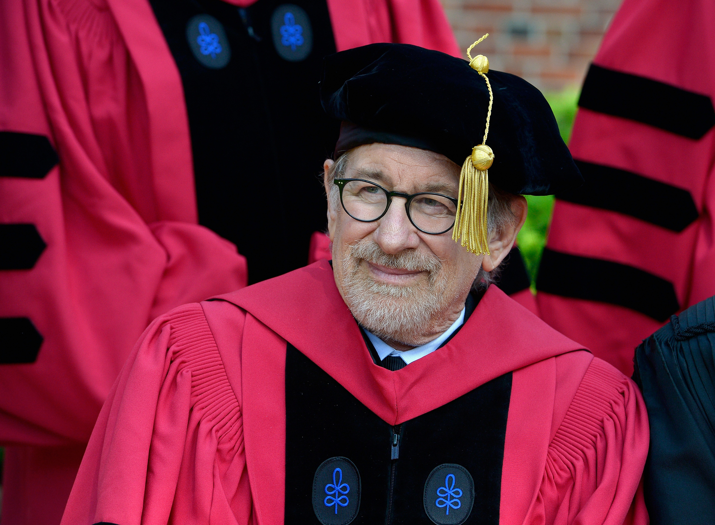 Steven Spielberg at Harvard
