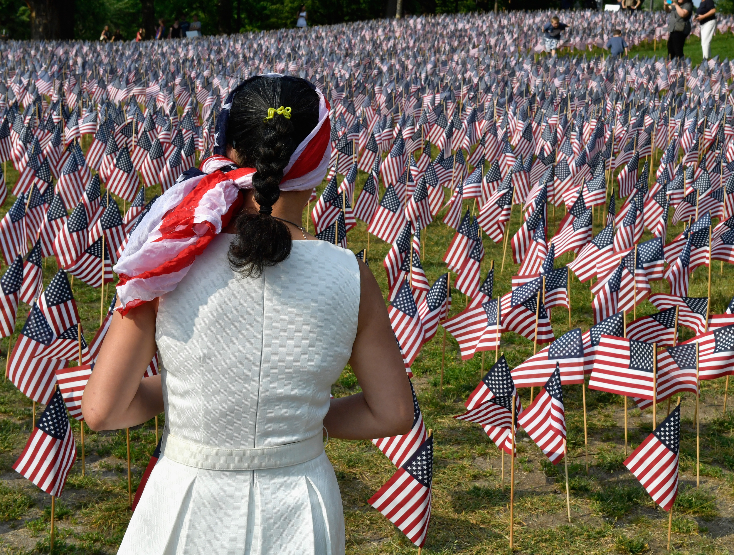 37,000 Flags Boston Common