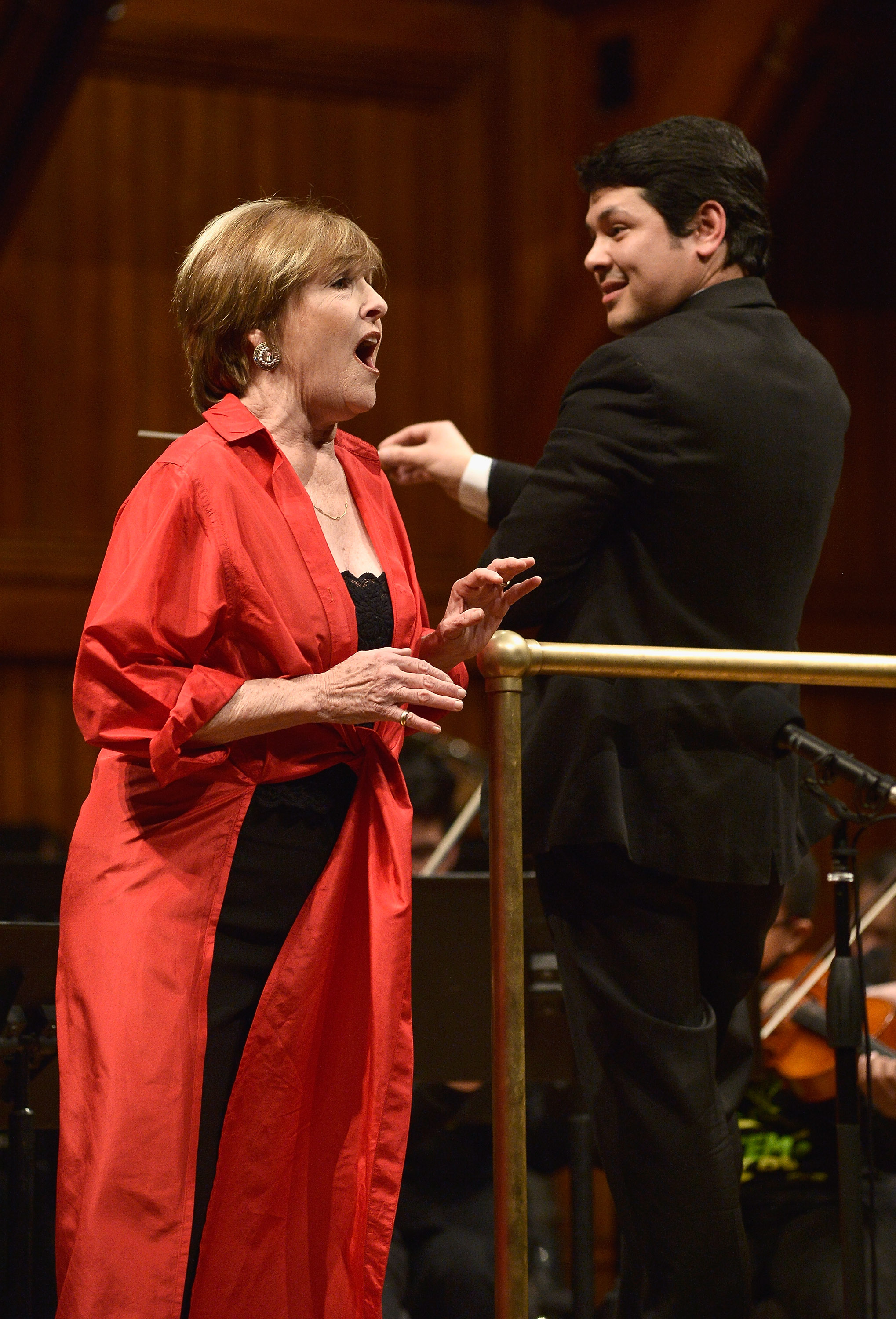Frederica von Stade at Longy El Sistema Side by Side
