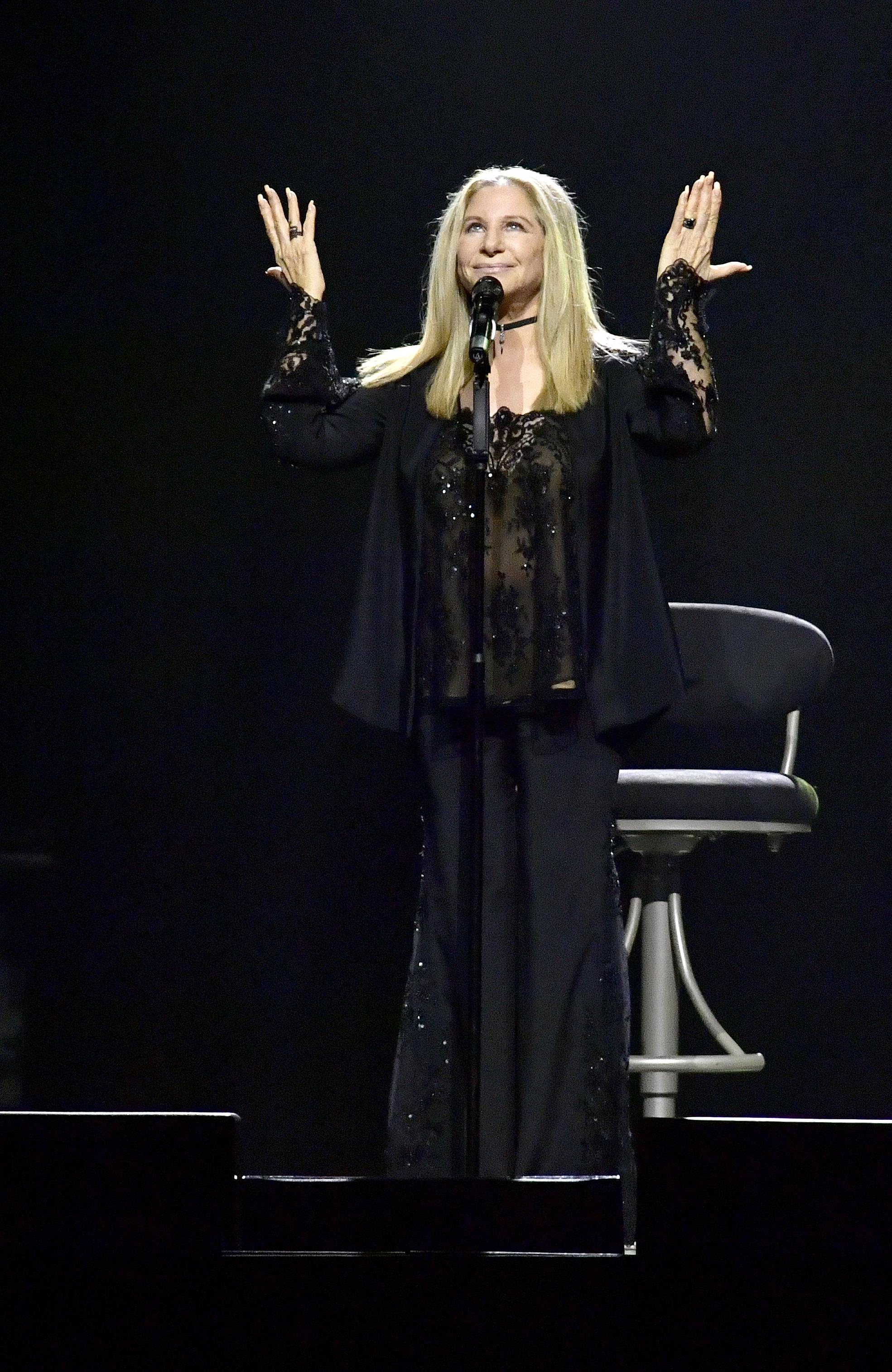 Barbra Streisand for Getty Images at TD Garden