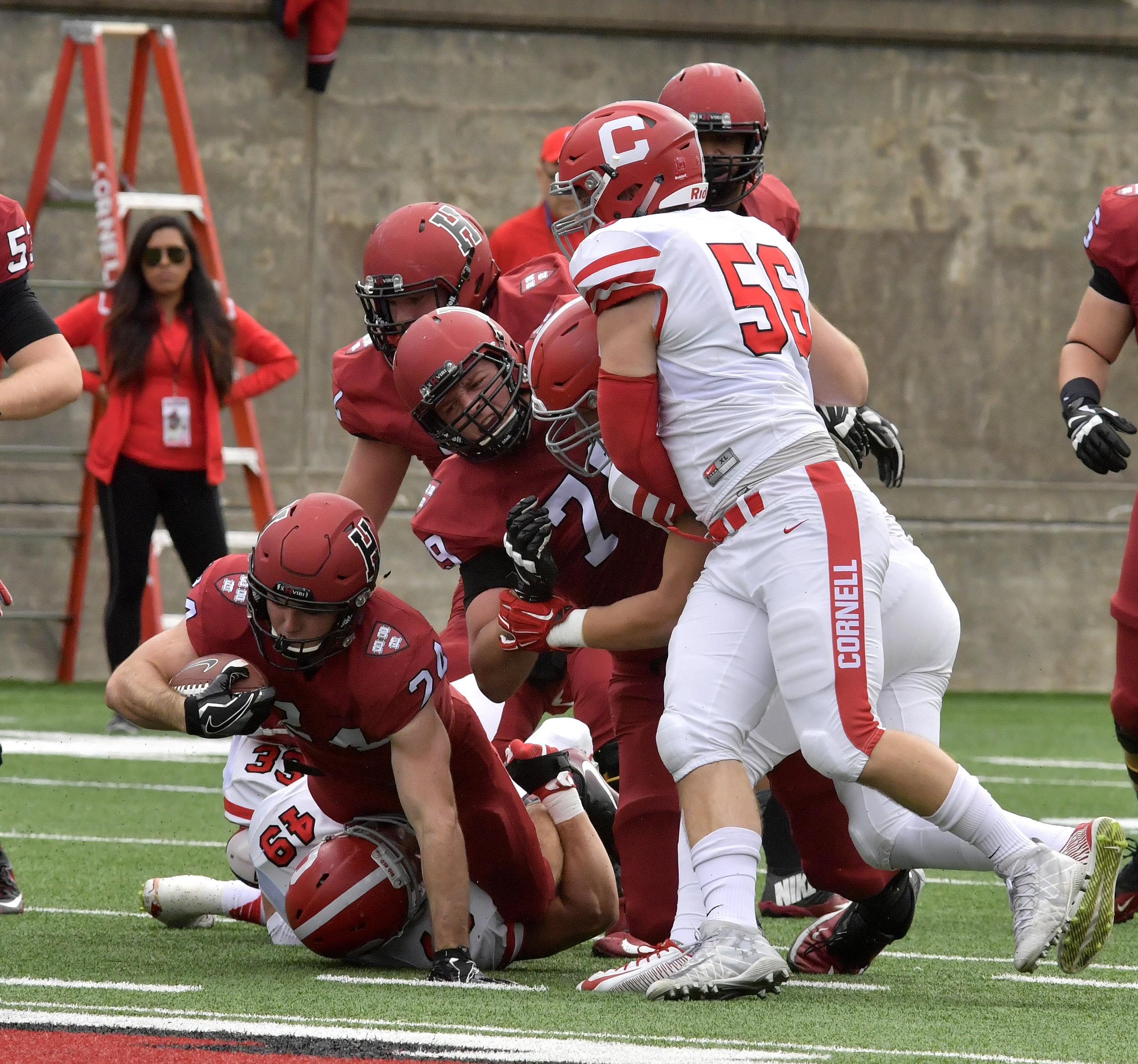 Harvard Crimson vs. Cornell Big Red Football