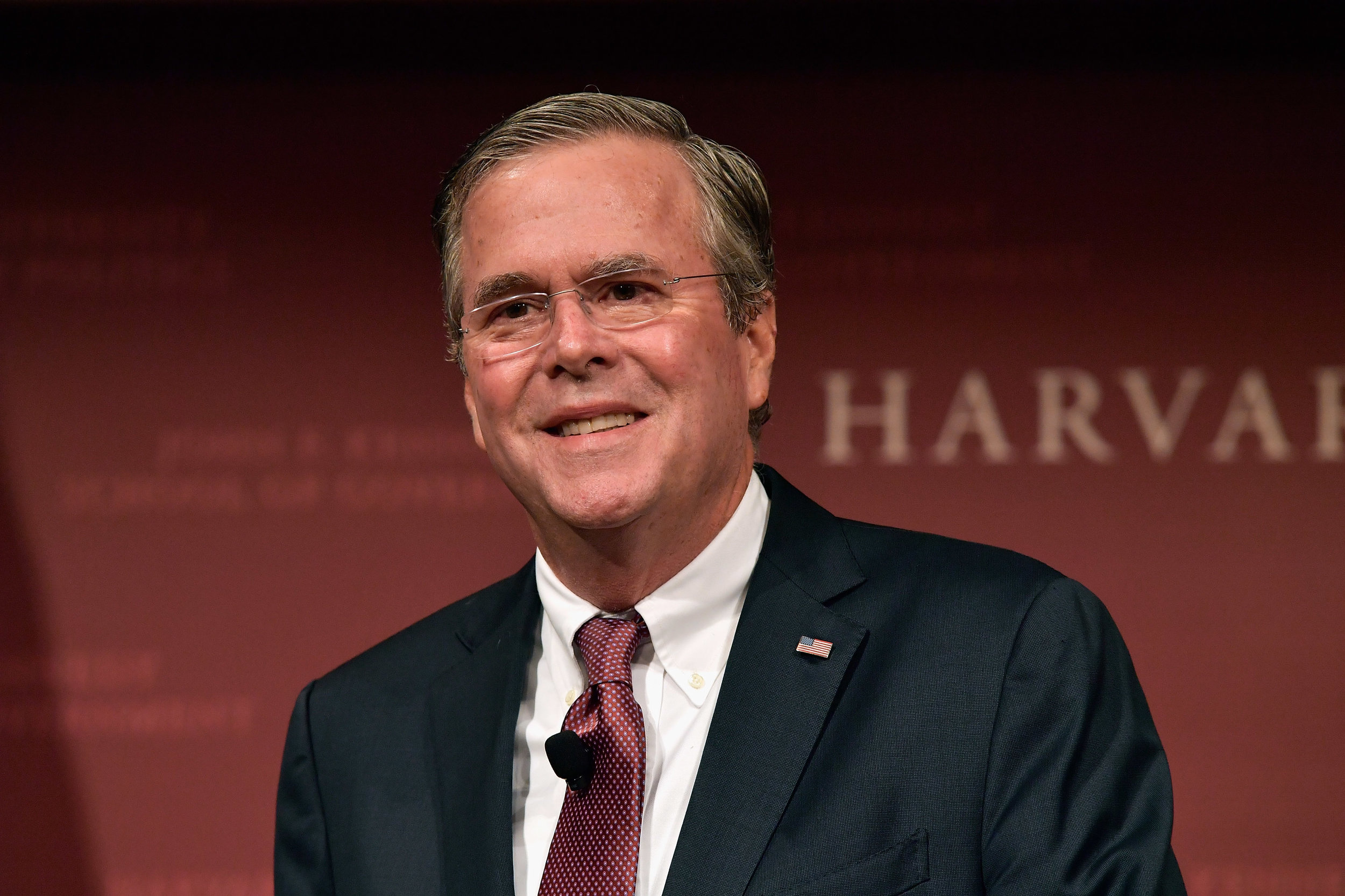 Jeb Bush at Harvard