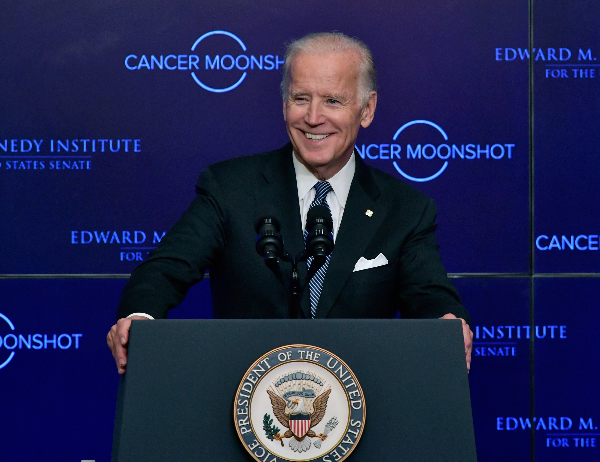 Joe Biden in Boston