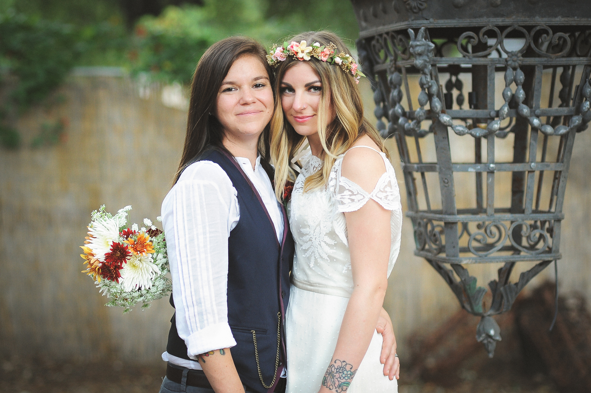 In 2014, I photographed Jackie + Laura's Wedding at VUKA