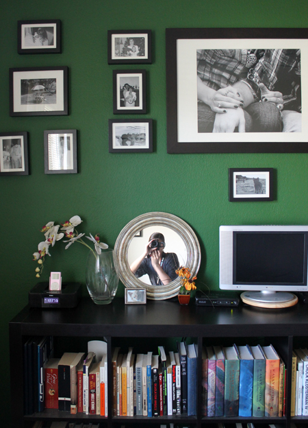 Spacing is crucial when creating a gallery wall