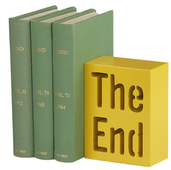 CB2 - The End bookends