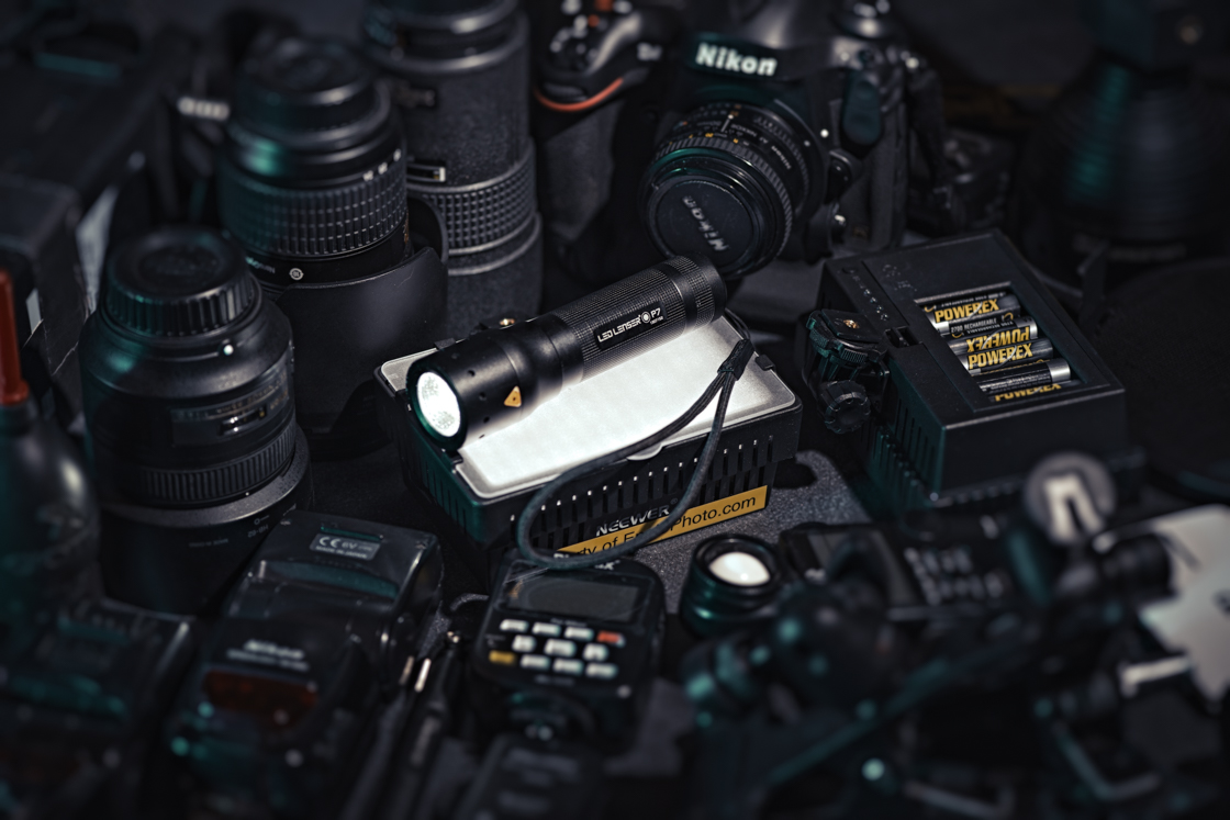 The LED Lenser  P7  is always part of my camera bag. Thanks  Christine The Photographer  for helping me making this image.