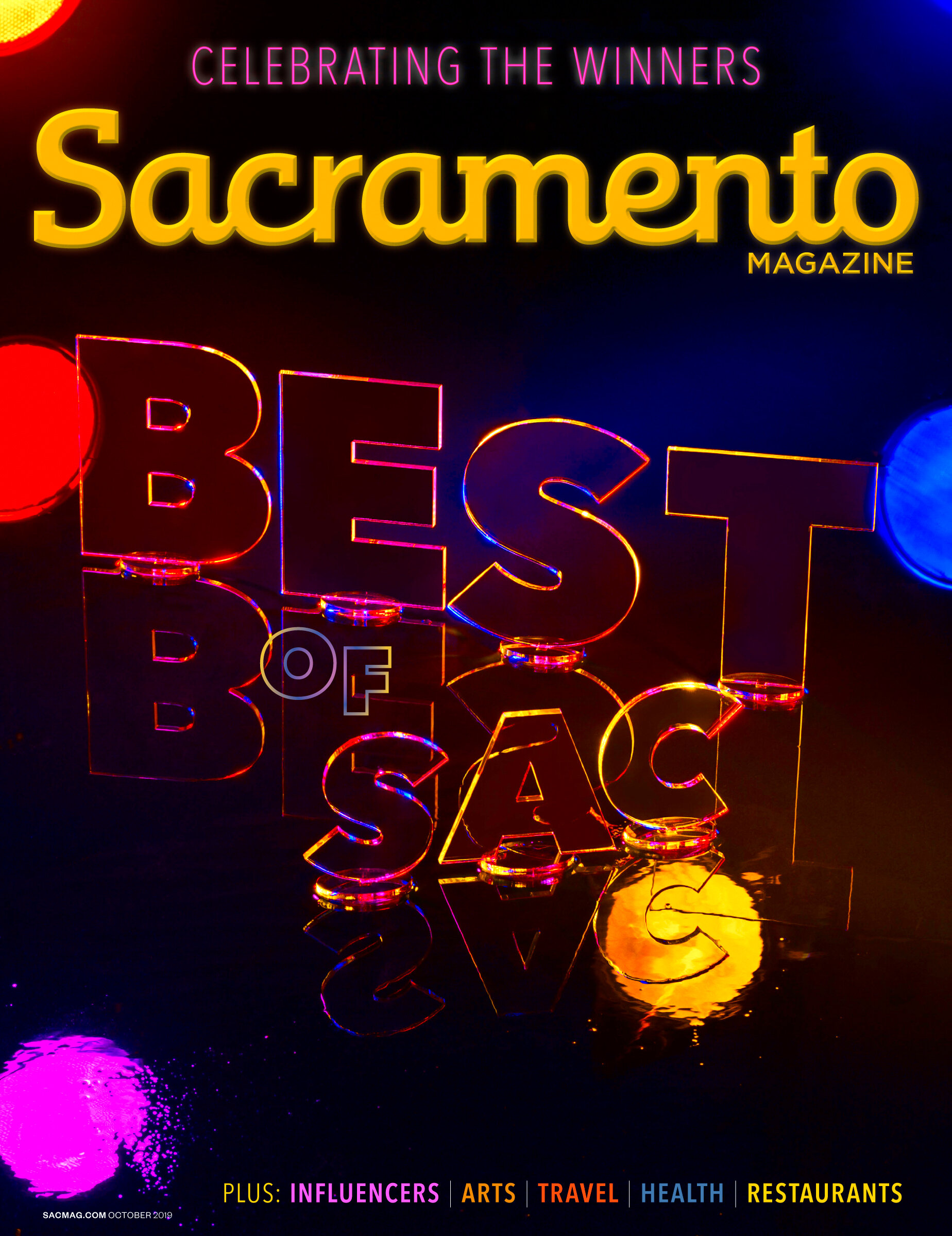 """Sacramento Magazine """"Best Of Sacramento"""""""