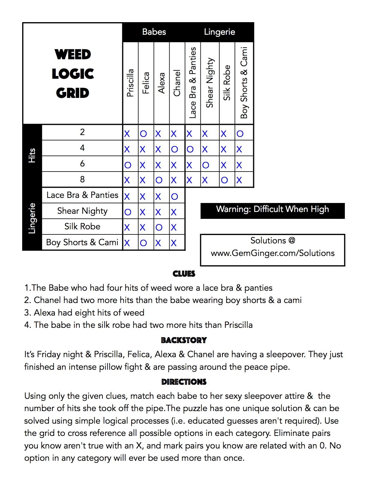 Logic Puzzle 1