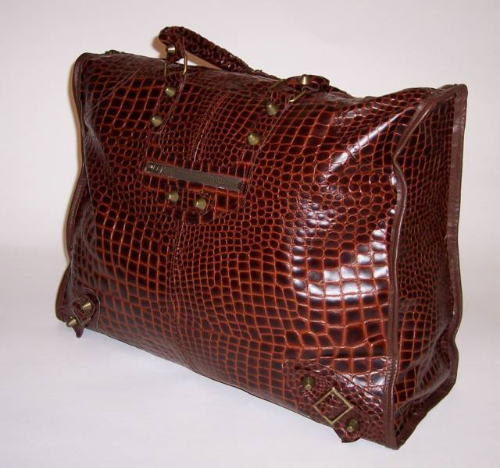 Handcrafted Over-Sized Leather Tote Bag