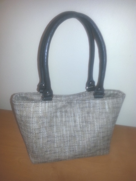Jessica Bag with Handcrafted Leather Straps