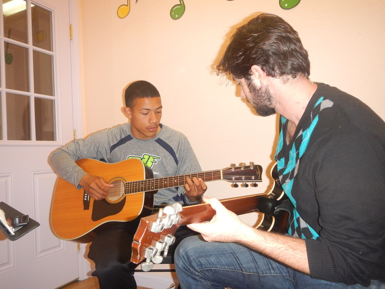 """""""Rory is an upbeat, intelligent, understanding teacher. His optimistic personality combined with his musical intelligence is a character you see only in a few teachers. I went through many music teachers but I can honestly say Rory has been the most impactful one yet. You will not go wrong by going with Rory.""""  -- Karsten Washington"""