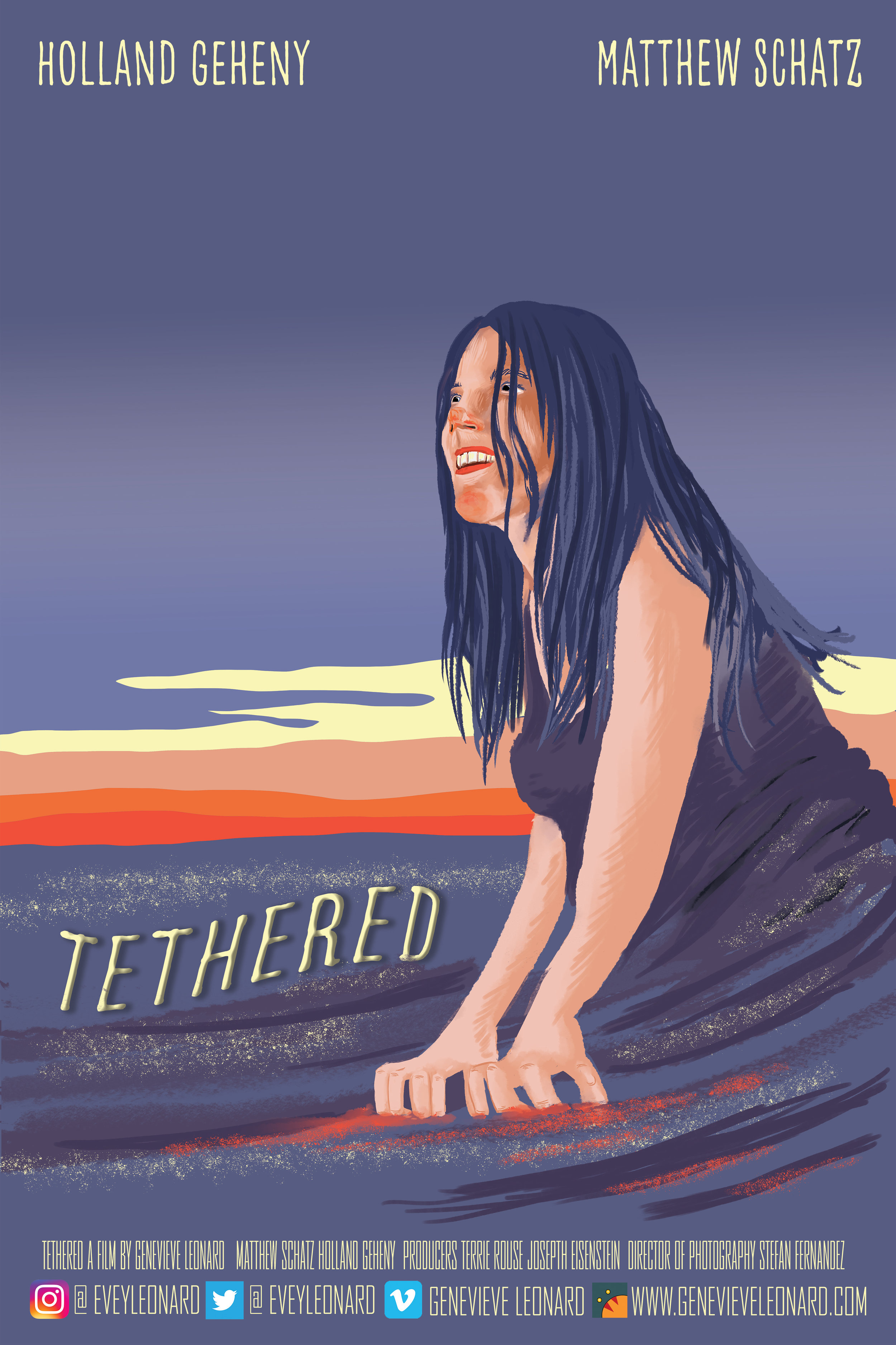 Tethered Poster - 2018