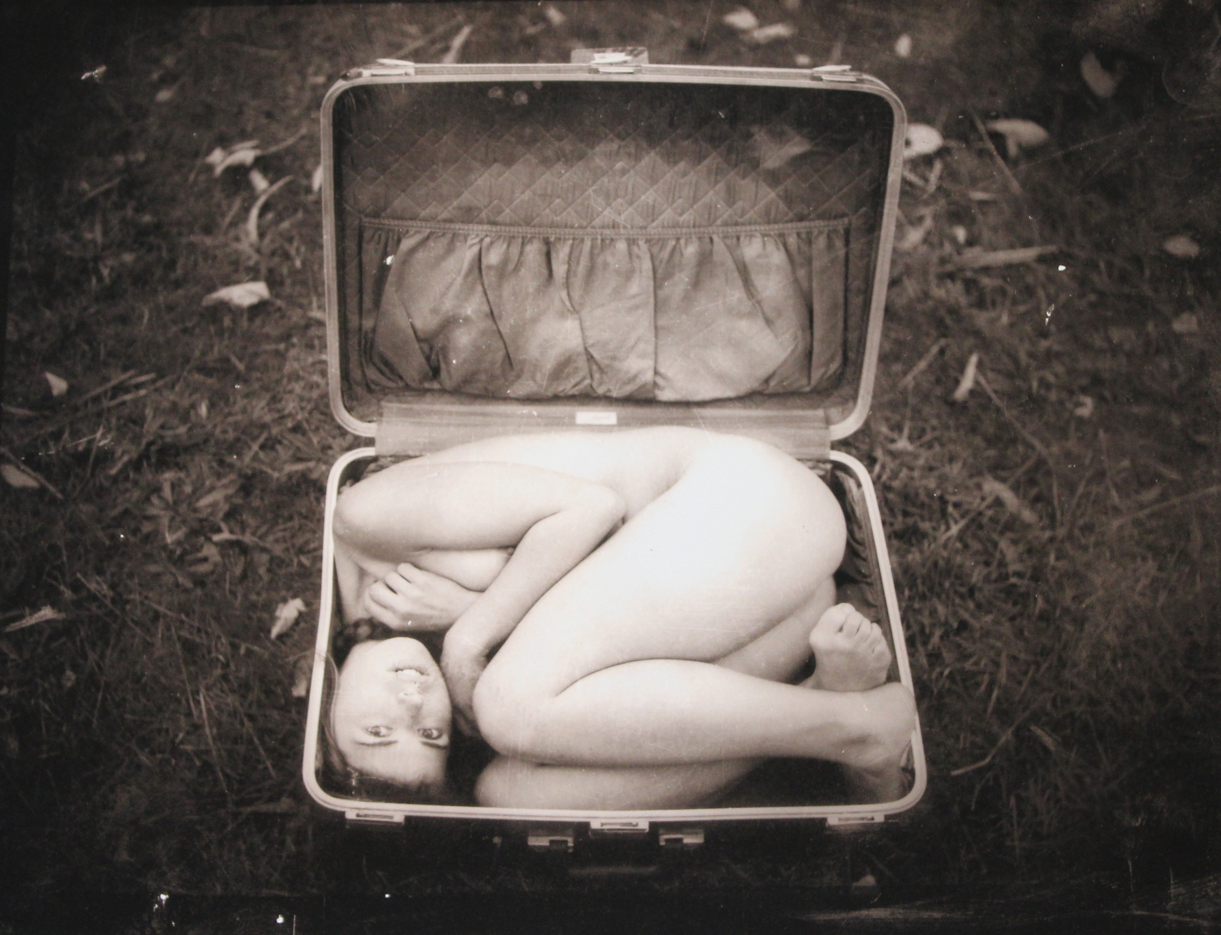 Woman in Suitcase • 20 X 24 • Print (Edition of 35)