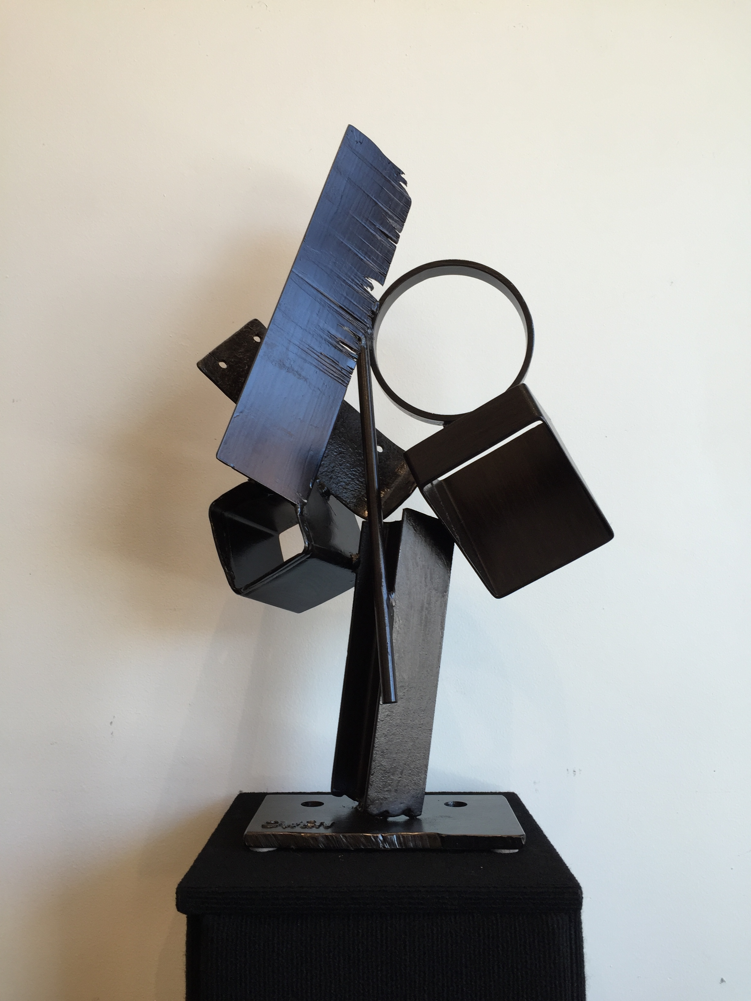 JEFF OWEN //  Gallium  • 28 X 16 X 10 • Painted Steel • WAS $1,200 / NOW $1,000