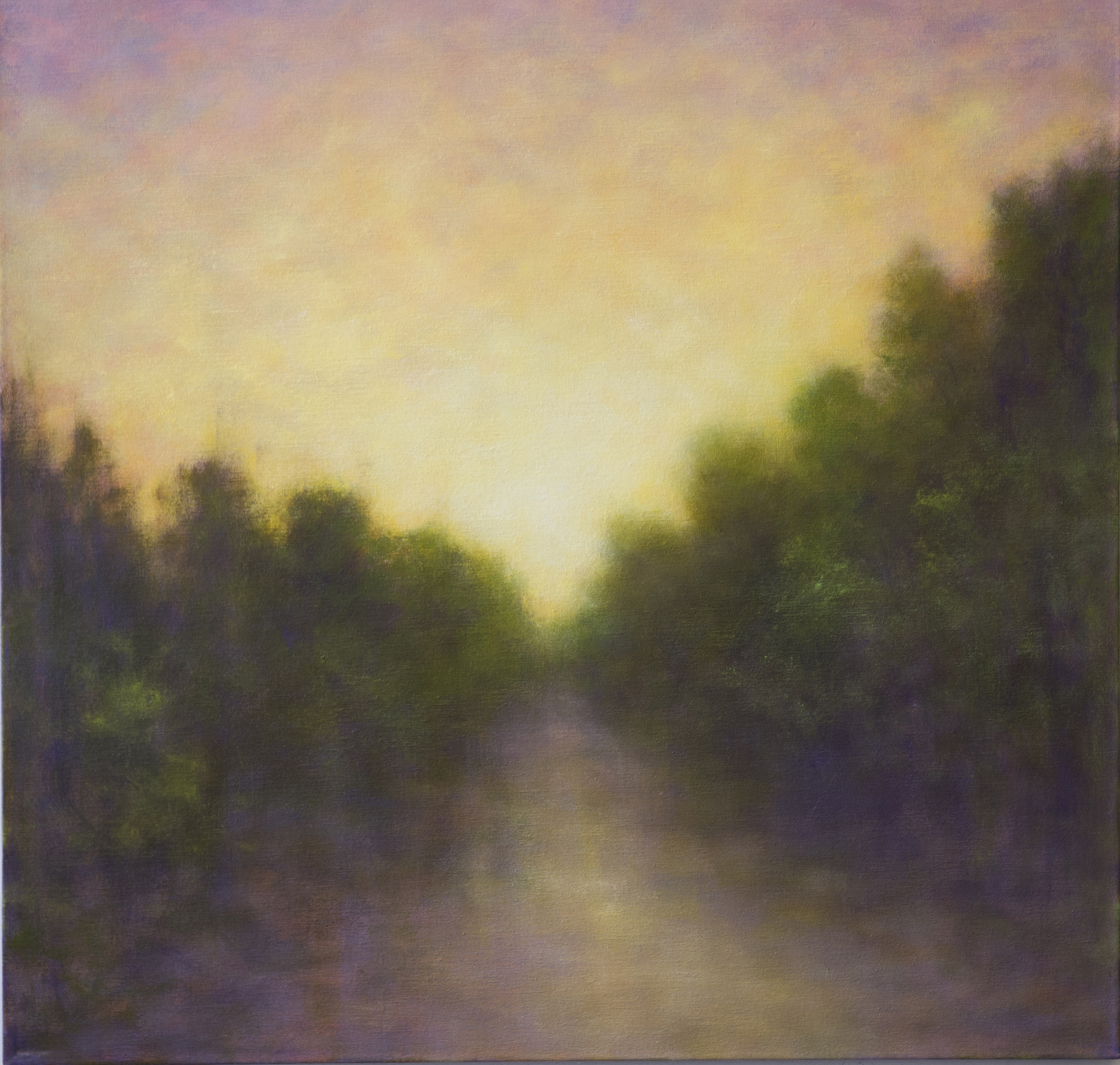 THE LONG WAY HOME •  30 X 30 • OIL ON CANVAS •  $1,400