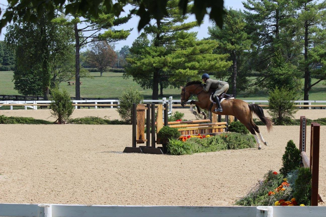 The two good looking boys on course :)