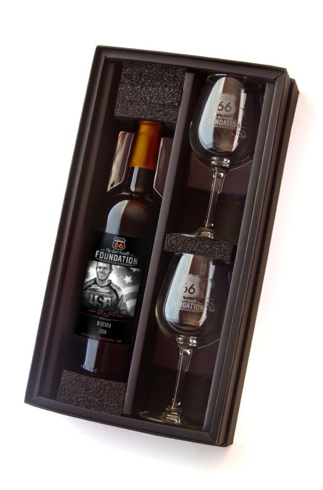 Caselli Gift Box W/ Wine Glasses