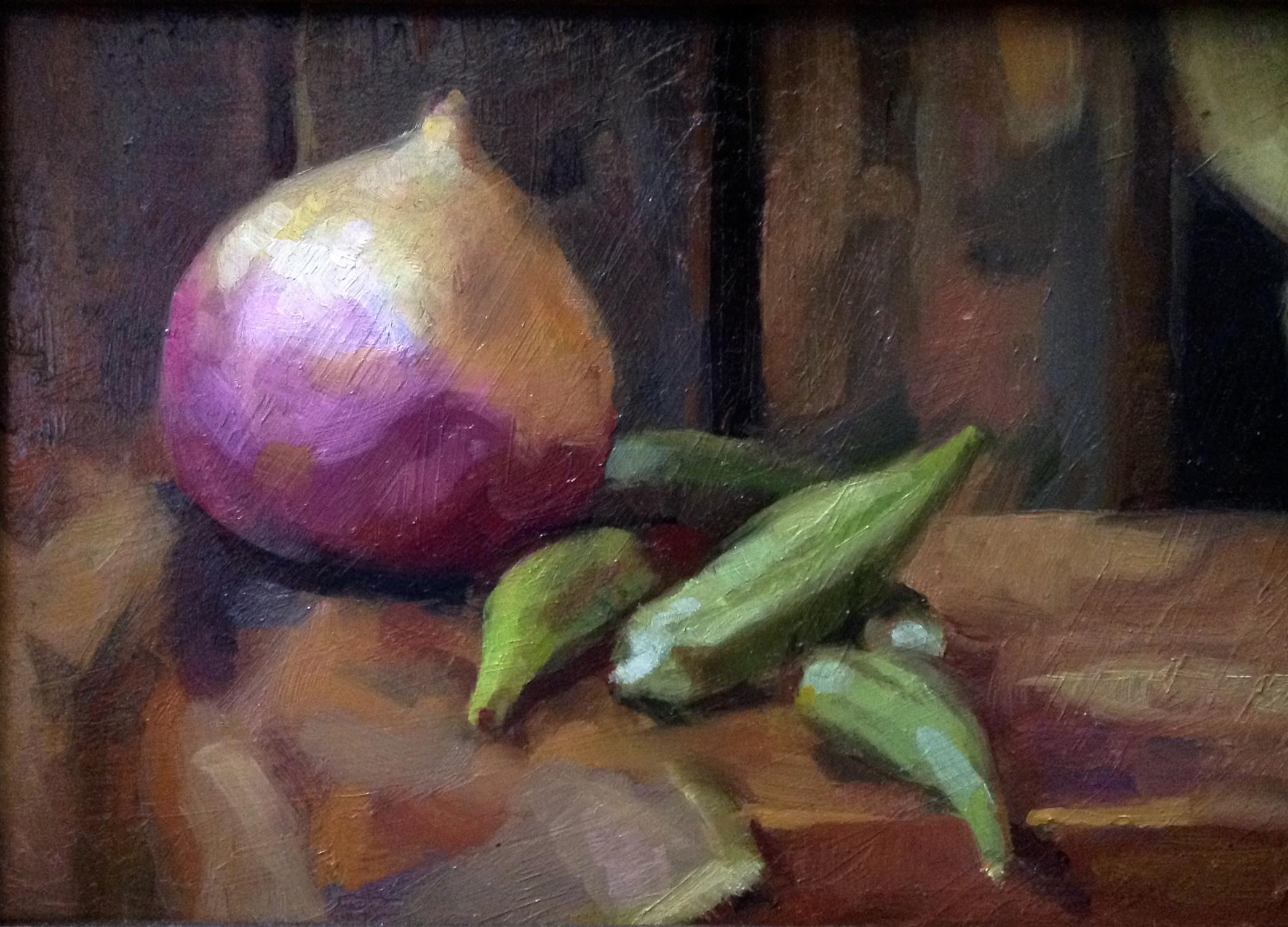 Turnip and Okra