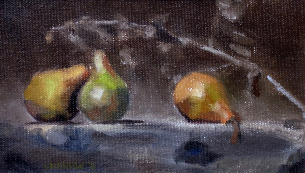 Study for Three Pears