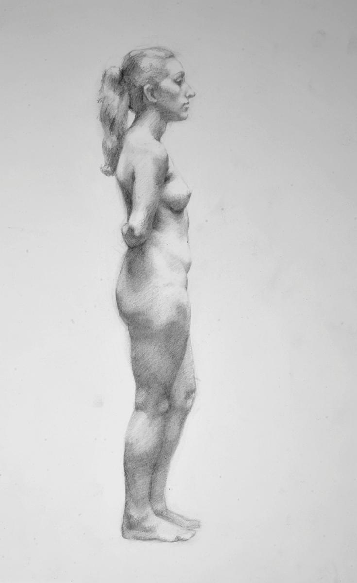 """Mackenzie Swenson """"Figure Study"""" Pencil 1 8x12.jpg"""