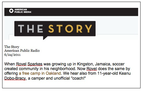 Listen to  The Story  to hear first hand how and more importantly why the camp was started.