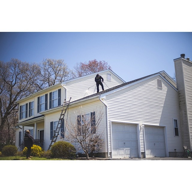 #powerwashing / #roof