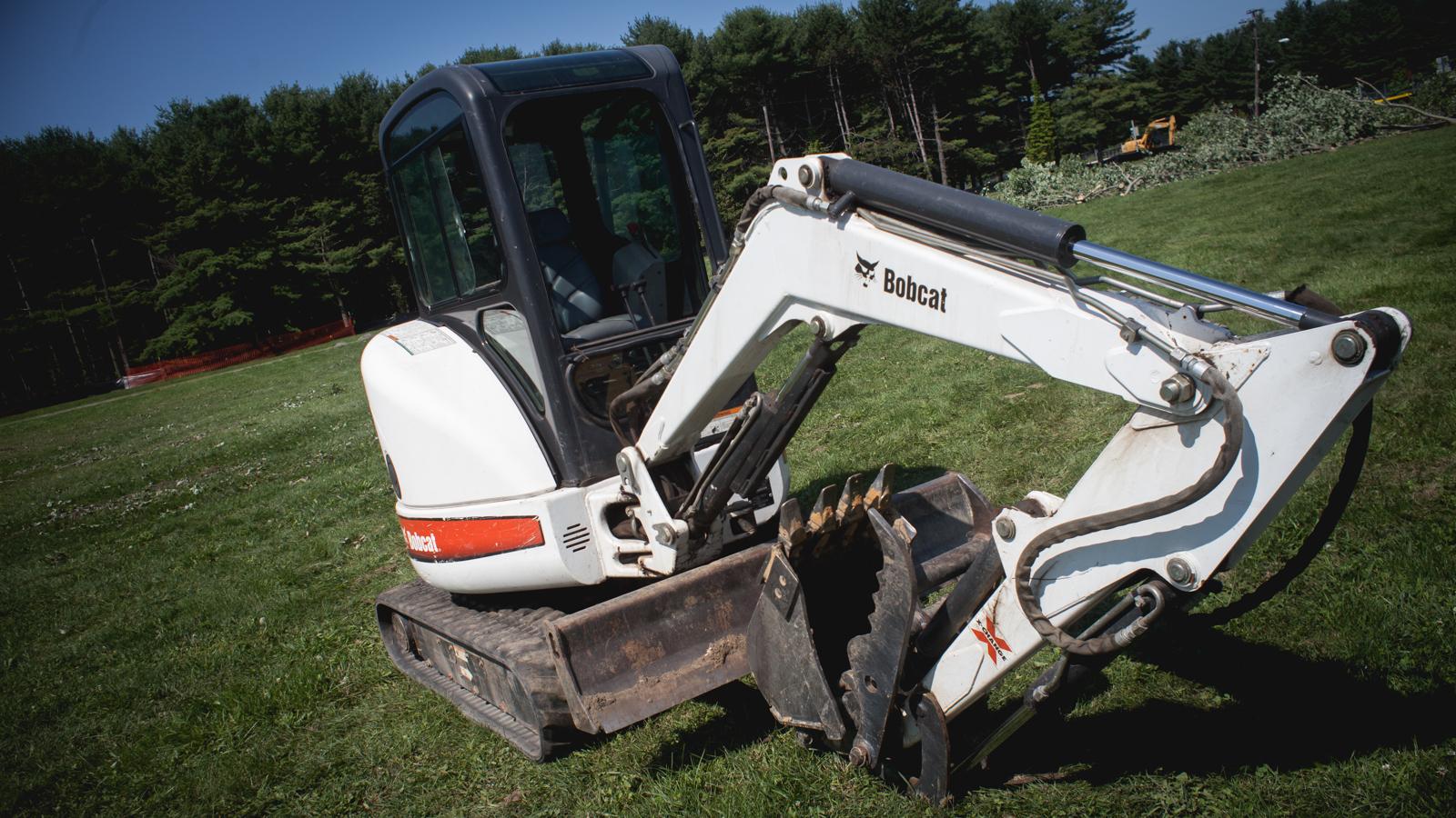 Bobcat 425 Mini Excavator.