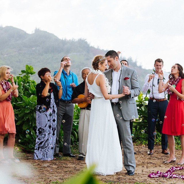 The #firstdance! 🌅👰👫👋🌍🌈💍