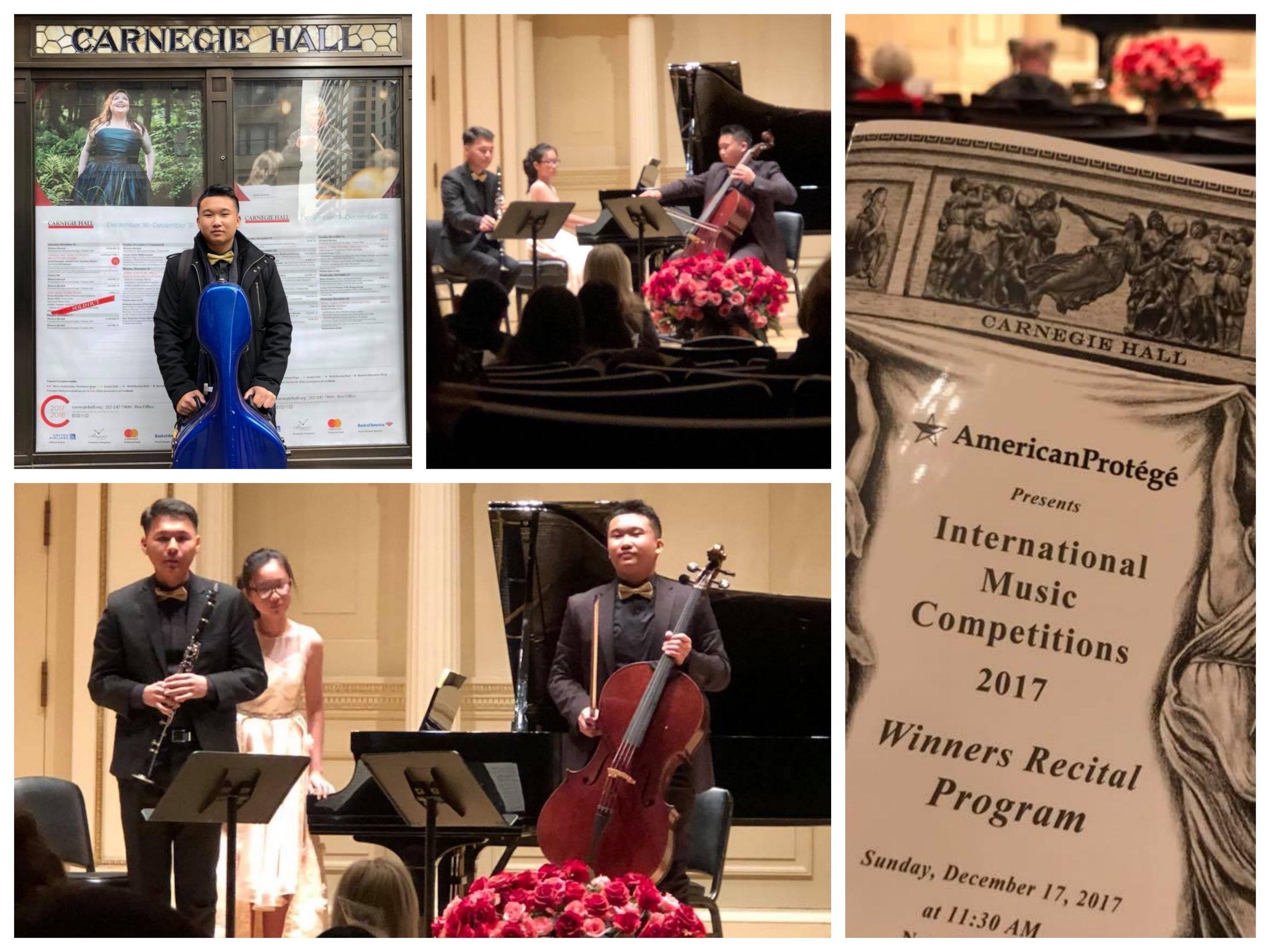 Phillip SuwandiAge 16 - Carnegie Hall Dec 2017