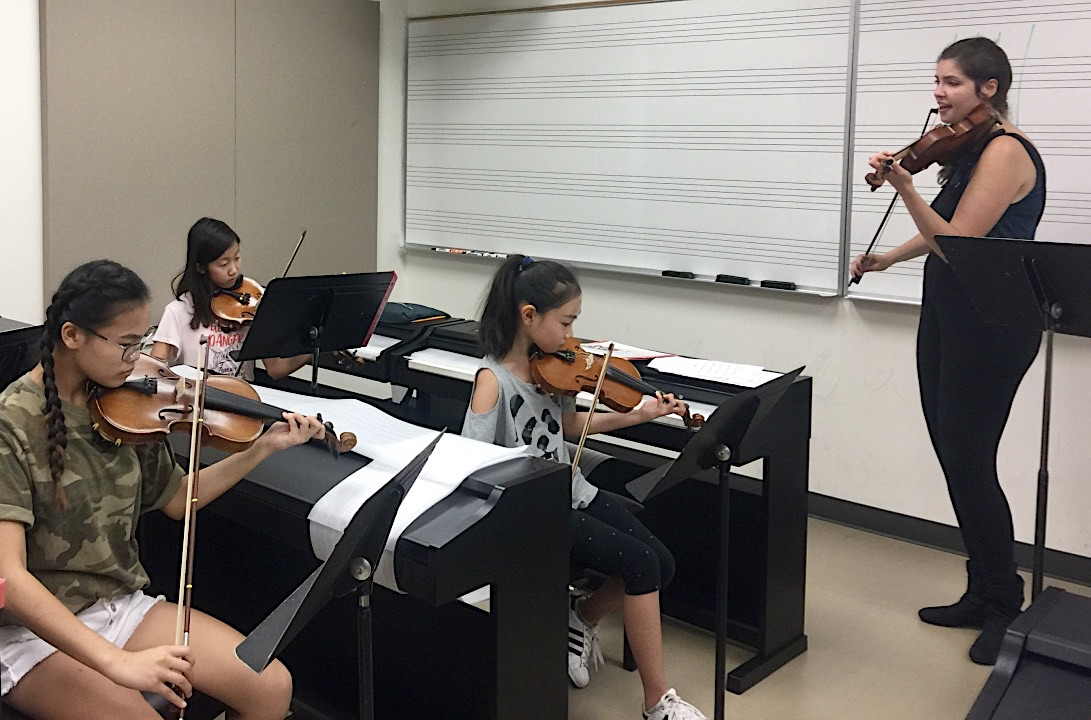 Summer Camp 2017 - A Few Chamber Strings