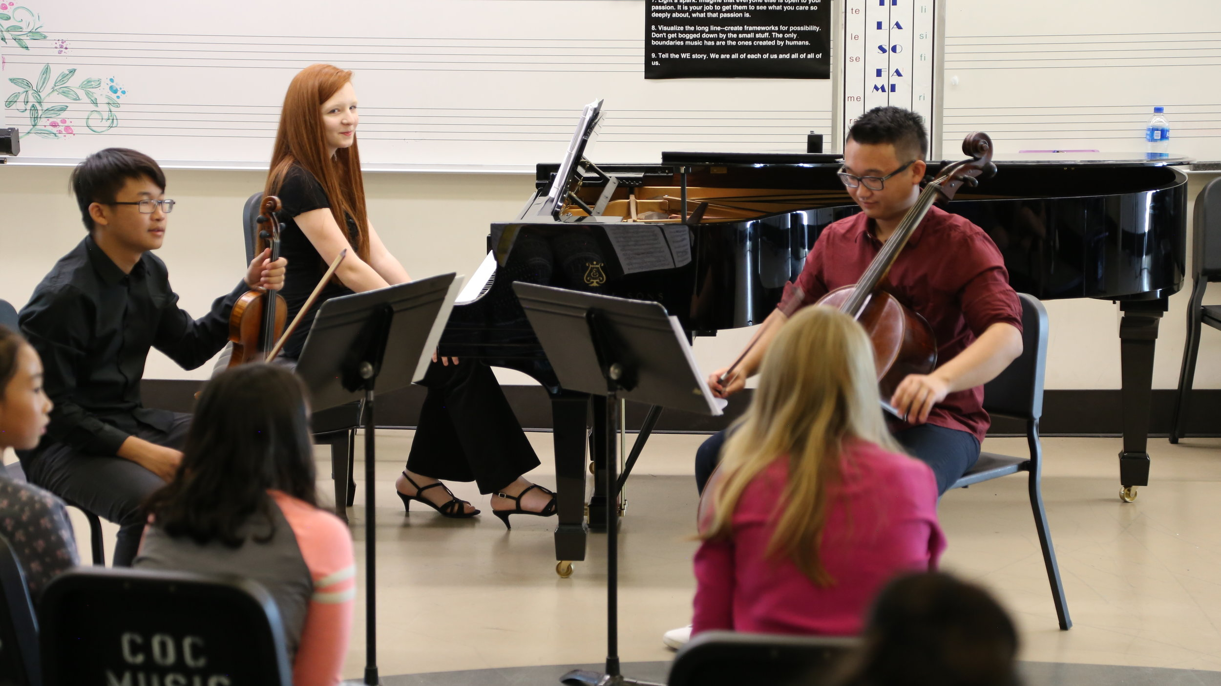 Master Class with Cheryl Norman-Brick, violinist with LA Chamber Orchestra