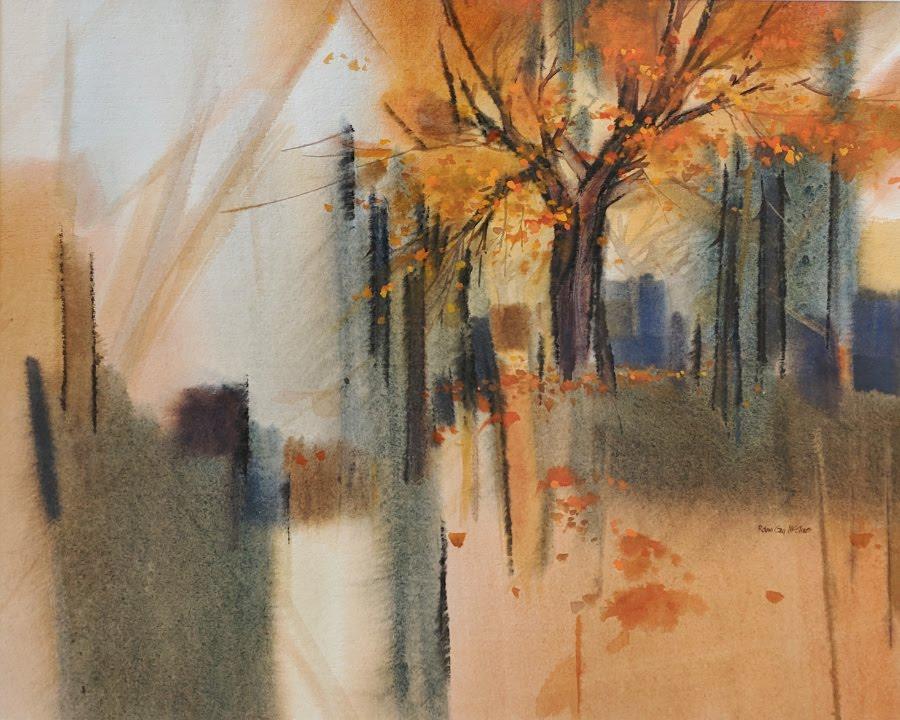 Orange Fall Tree