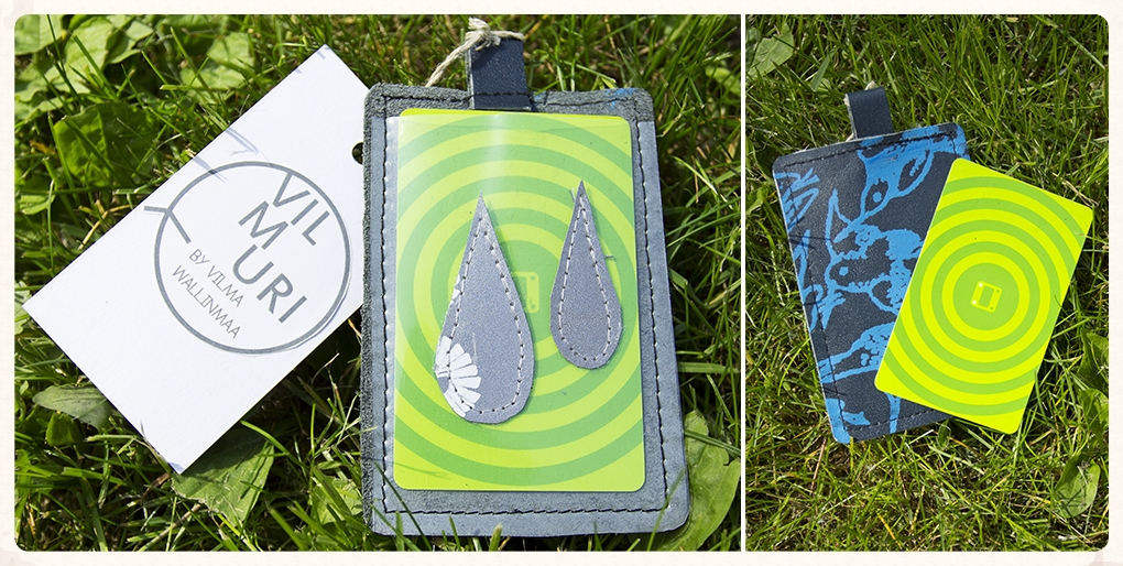 cases for travel/bus card (reflector, 15/18 € / pcs)